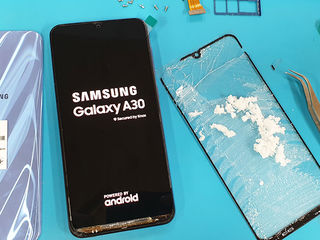 Schimbarea sticlei/display Samsung A10/A20/A30/A40/A50/A70