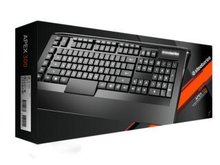 SteelSeries Keyboard Apex 300 Low Profile Membrane Gaming Keyboard