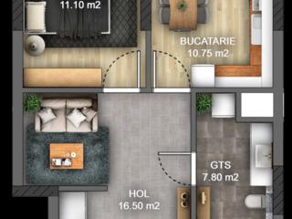 Apartamente de la 595€ m2