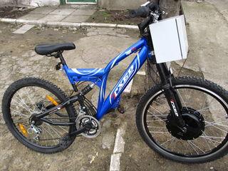 Электрические велосипеды разные.