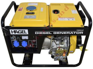 Генератор Generator Hagel 7500CL мощностью 5.5 квт за 21000 лей+доставка,гарантия