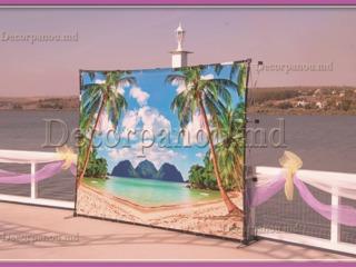 Carcasa mobila ( stativ mobil ) pentru baner la nunta , cumetrie , aniversare, conferinta, expozitie