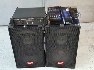 Aparatura , Boxe , Amplificator, Mixer , totul la 400 Euro