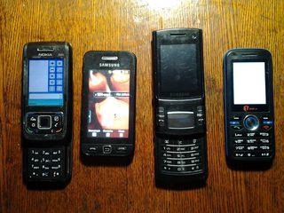 Телефоны на запчасти 100 лей 1шт.