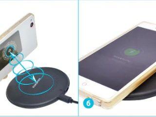 Wireless Phone Charger. Беспроводная зарядка.