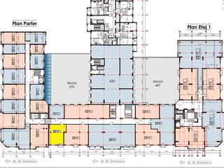 Продажа 66м2 (1 кабинет) под офис в центре на Еминеску! Рассрочка! Офисное здание! 3 эт!