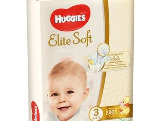Подгузники, Scutece Huggies Elite Soft Mega 3, 4, 5
