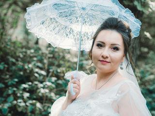 Свадебный зонтик для фотосессии