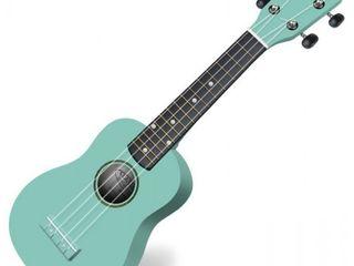 Classic Cantabile US-100 TQ Soprano Ukulele Turquoise-nou