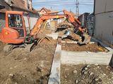 Excavator săpăm evacuăm Bobcat camioane basculante