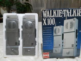 Walkie talkie  busch x100 (2650) new - 500 lei