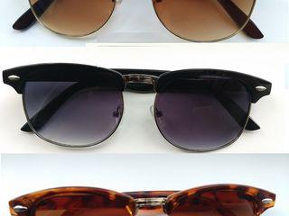 Очки солнцезащитные винтажные, с поляризацией.