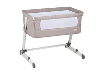 Patut Co-sleeper 2 in 1 BabyGo Together Beige. Livrare in toata tara - Mamico md