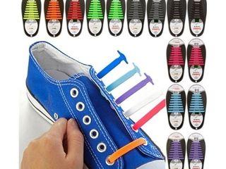 Силиконовые шнурки цветные
