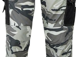 Камуфляжные брюки Crambe - серые