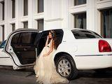 Kлассический белый лимузин Lincoln Town Car оригинальный американец