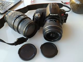 Sony Alpha 290 + 2 объектива