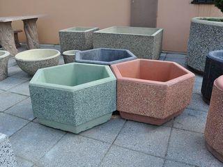 Vaze din beton și articole decorative din beton!