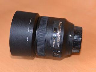 Nikon 85mm f.1/8 G
