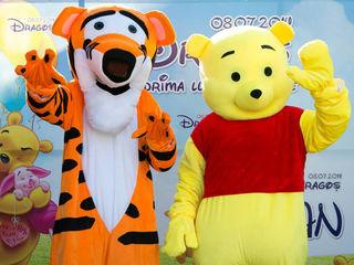 Winnie Pooh, Tigra, Panda; Винни- Пух, Панда, Тигра