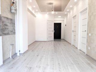 Apartament cu 2 camera + living / 55 m2 / Euro reparat. Prima rata 15 000 euro !!!