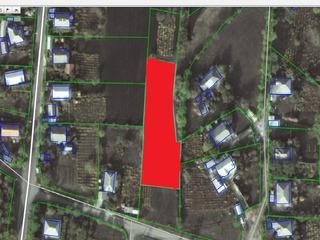 Vand teren in centru com.Cruzesti, pentru constructii  0.22/ha