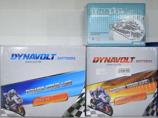 Аккумуляторы Dynavolt, Exide, 4ride, Yusa