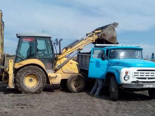 Servici excavator si zil se poate transfer