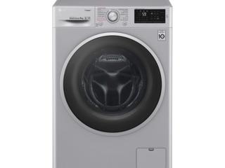 Стиральная машина LG F4J6VS1L  Полногабаритная/ 9 кг/ Серый