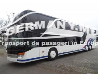 Italia - Slovenia, Ungaria. Transport de pasageri. Zilnic