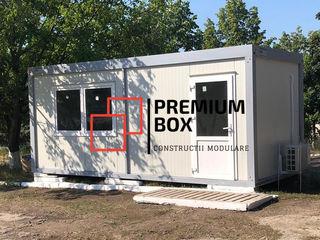Containere modulare pentru spatii de birou, cabine de paza, magazine
