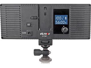Широкий LED свет Viltrox L132T 1065 lumens, RA-95, LEDW49 - 49 светодиодов