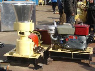 Granulator cu motor disel 18c.p. 200-300 kg/h
