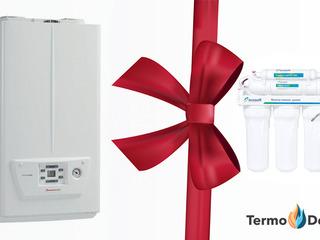 Акция!! При покупке котла Immergas Victrix Omnia 25 подарок фильтр обратного осмоса Ecosoft