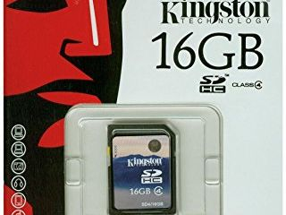 SD card 8GB/16GB