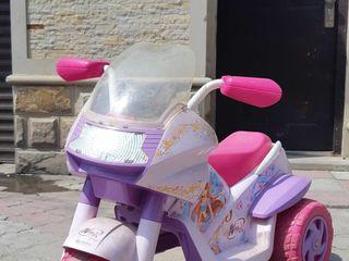 Мотоцикл на аккумуляторе!!!