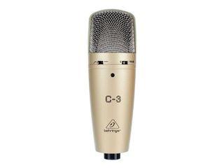 Microfon studio Behringer C-3 cardioid condenser