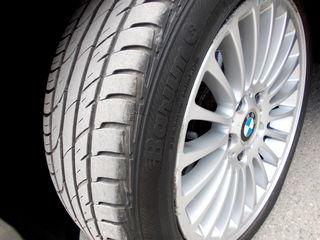 BMW e46 диски с шинами R17