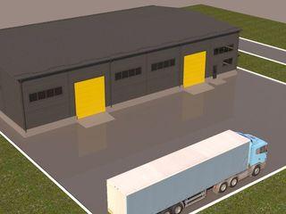 Arenda spațiu industrial 680 mp, cu intrare separată și teritoriu propriu