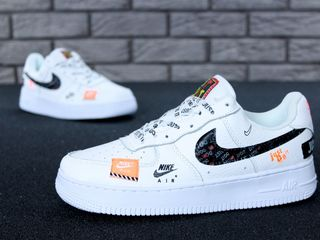 "Nike Air Force ""Just do it"" White Unisex"