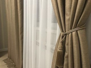 Распродажа качественной тюли с утяжелителем и штор-Турция! Draperii,galerii,perdele,jaluzele