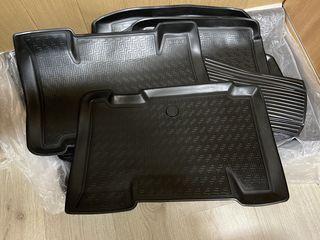 Коврики резиновые (полиуретан) в салон и багажник Toyota RAV4 XA40 2013-2018
