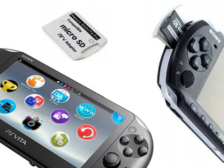 Карта памяти 32/64GB с играми для PSP, PSVita. адаптеры microsd в memory stick Pro Duo, SD2VITA.