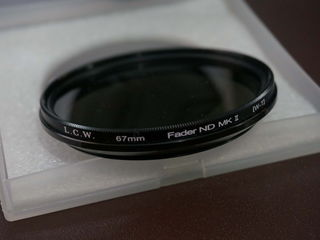 Filtru lightcraft workshop (lcw) fader nd (nd2  nd400) 67 mm neutral density