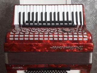 Vând acordeon Weltmeister Silvana + husă