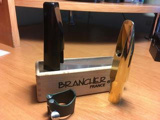 Мундштук для тенор саксофона Brancher E29 (made in france gold plated)