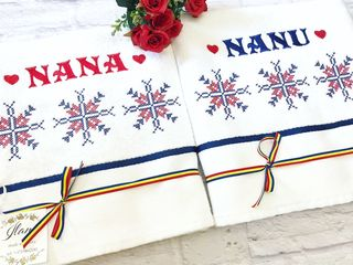 Полотенце или махровый халат с именной вышивкой