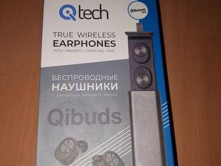 Căști wireless Qi Tech