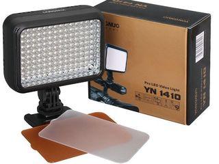 Видео-осветитель постоянного света Yongnuo YN-1410. 140 LED.