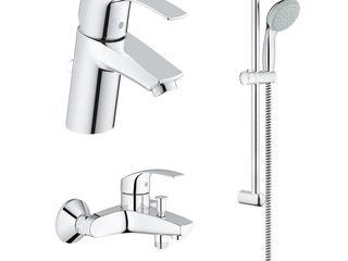 Комплект смесителей Grohe Eurosmart для ванной